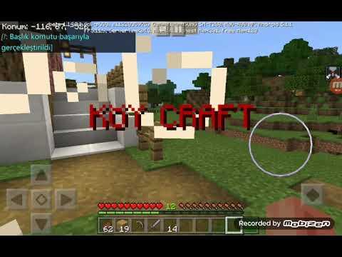 Minecraft Köy Craft [Güncelleme Geldi] İndirme linkli