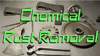 Rust Removal Experiments: Citric Acid, Cider Vinegar, Rostio
