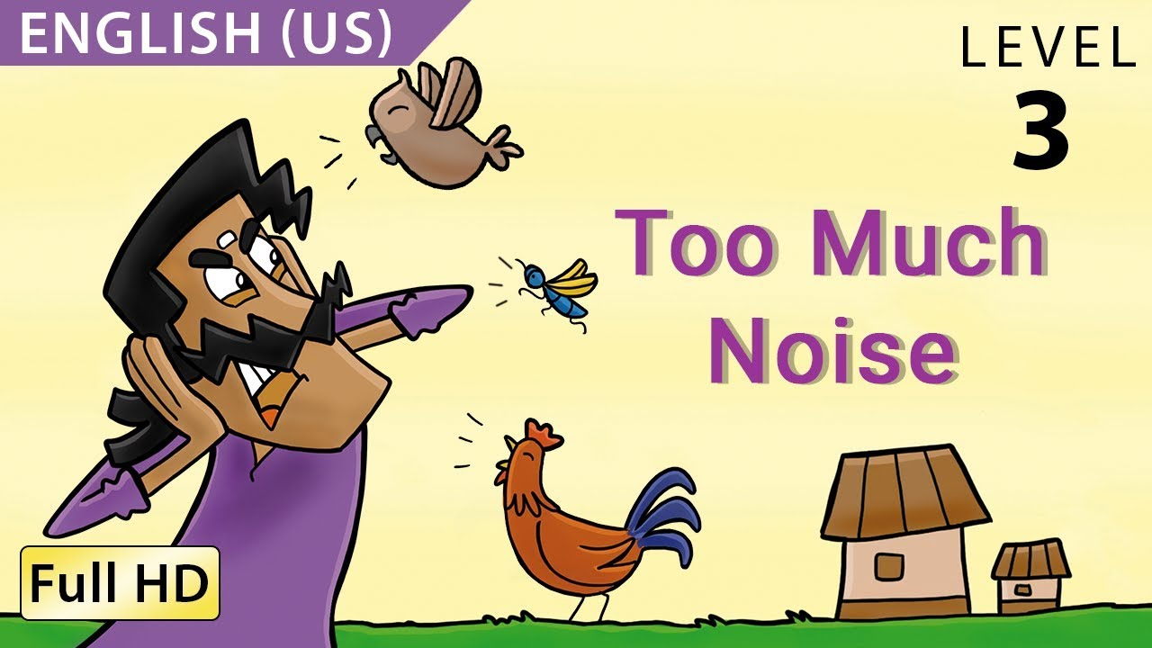 e27c808eb4 Too Much Noise: Learn English (US) with subtitles - Story for ...