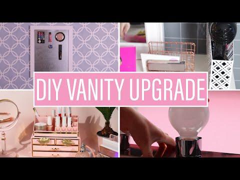 4 DIY Ways To Upgrade Your Makeup Vanity