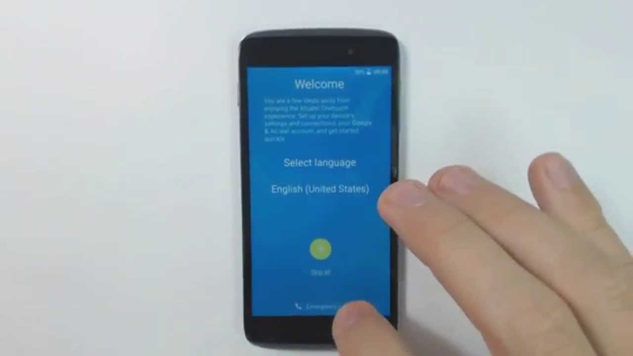 Alcatel One Touch Idol 3 6039 hard reset