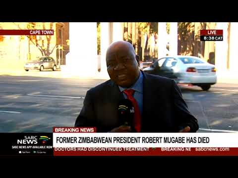 UPDATE: Zimbabwe's President Emmerson Mnangagwa to address the media on Robert Mugabe's death
