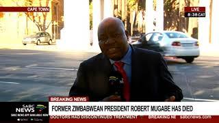 UPDATE: Zimbabwe's President Emmerson Mnangagwa to address the media on Robert Mugabe's death