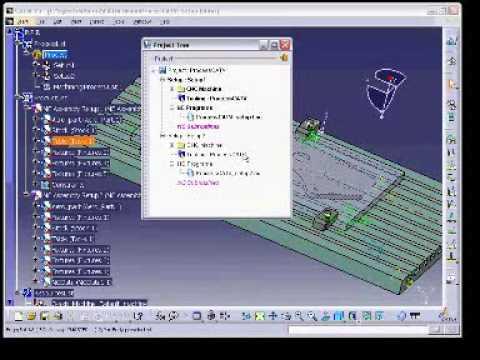 Catia v5 P3 interface