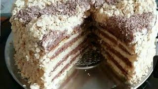 Торт очень нежный и вкусный