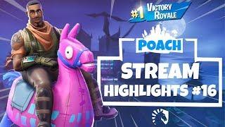 POACH Stream Highlights #16 (Fortnite Battle Royale)