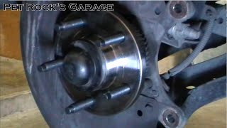 How To Replace Front Wheel Hub & Bearing - Ford Mustang