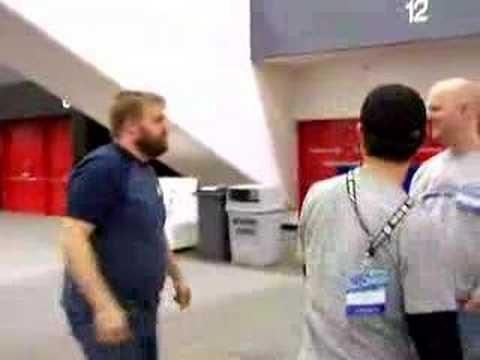 WonderCon '08 - Robert Kirkman Kicks Ass!