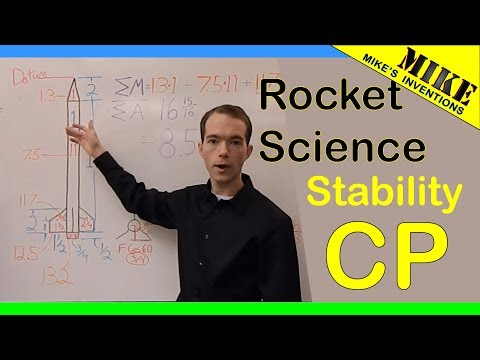 Rocket Science: Stability - Center of Pressure     Mikes Inventions