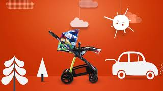 Cosatto Wow - видео обзор детской коляски 2 в 1 от milkbaby.com.ua