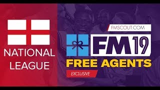FM19 Free Transfers | Best Football Manager 2019 free transfers for National  League