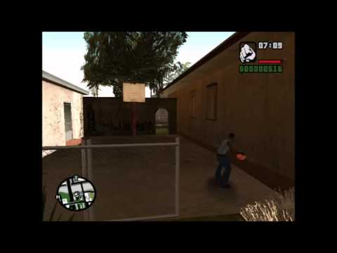 GTA SA - Basketball Dunk HD 720p