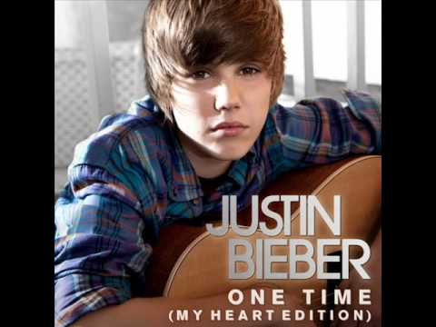 Justin Bieber - One Time (My Heart Edition) New!