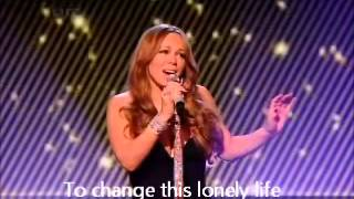 Mariah Carey - I Wanna To Know What Love Is - Live -  (Lyrics)