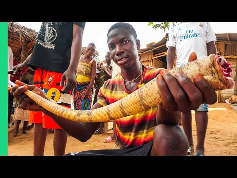 Nigerian Food Tour!! Hardest Place to Shoot in Africa!!