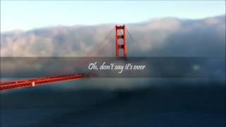 Kings of Leon - over - lyrics video
