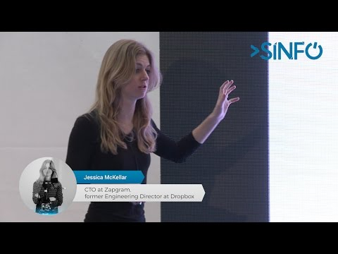 SINFO 24 - Jessica McKellar (CTO @ Zapgram and former Engineering Director @ Dropbox)