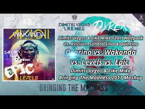 Ocarina vs Wakanda vs Levels vs Epic (DV & LM Bringing The Madness 2017 Mashup) [Dyrek Remake]