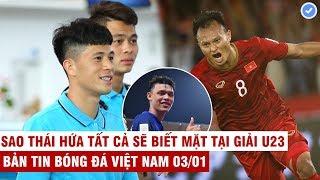 VN Sports 3/1 | U23 VN - HLV Park gạch tên Đình Trọng, 3 cầu thủ VN lọt đội hình thập kỷ của ĐNÁ