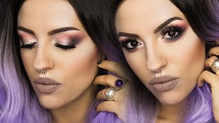 lora arellano make up tutorial neutral smokey eyes with lunatick cosmetic labs contour palette en
