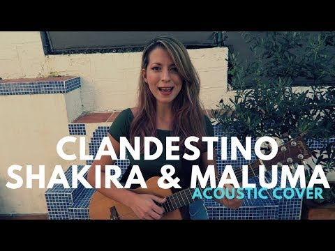 Clandestino | Shakira ft. Maluma | Cover by Jackie Torres