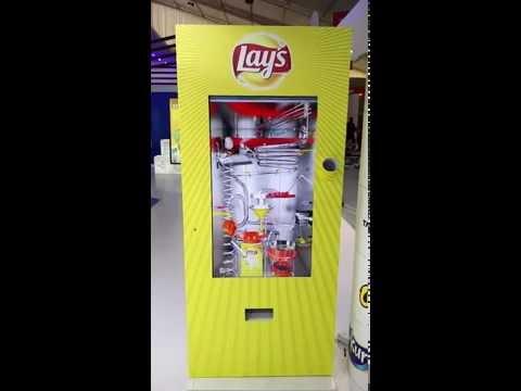 Pepsico Lays Vending Machine - Make in India 2016