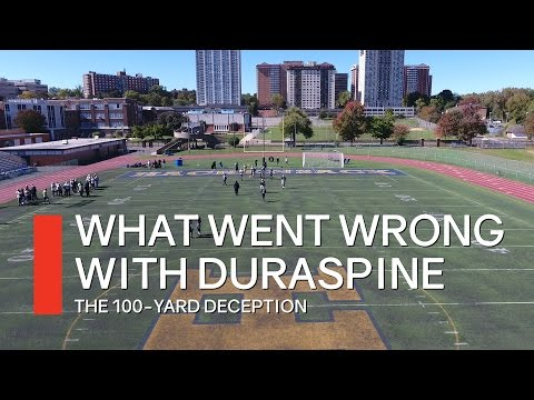 FieldTurf: What went wrong with Duraspine
