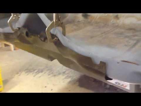 1972 Cararo Part 5 Bumper Brackets install