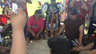 Buffalo Lodge @ Swan Lake First Nation Pow Wow 2014