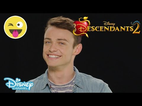 Descendants 2 | Who Said That? ft Thomas Doherty 😂 | Official Disney Channel UK
