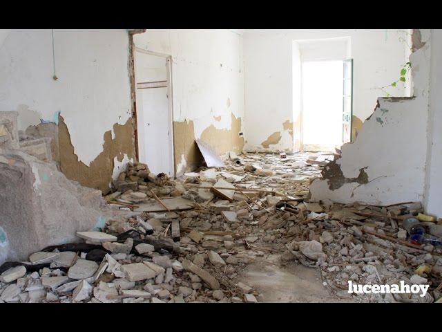 Video: Urgen la demolición de un edificio en el Zarpazo por el peligro que representa