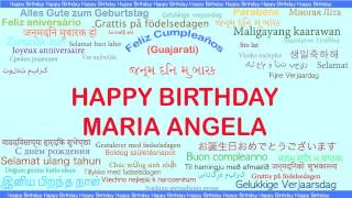 MariaAngela   Languages Idiomas - Happy Birthday