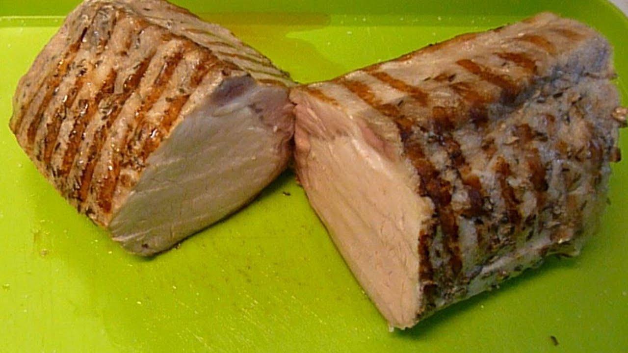 Lomo de cerdo cocinado a baja temperatura youtube for Cocina baja temperatura
