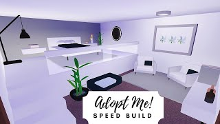 Estate Home Speed Build Part 1 Roblox Adopt Me Youtube
