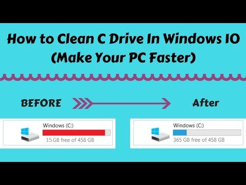 How to Clean C Drive In Windows 10 (Make Your Laptop or PC Faster)