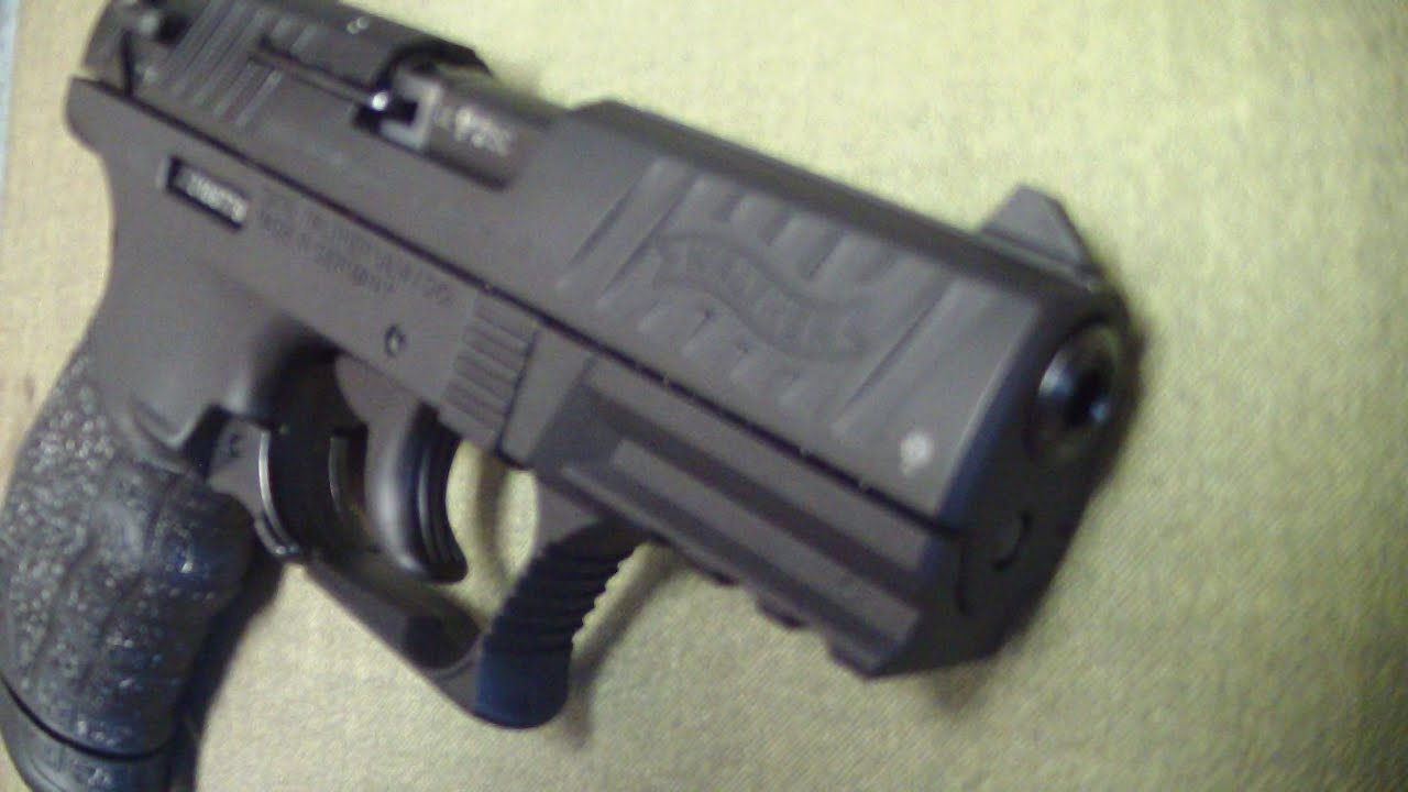 Walther P22 22 long rifle (review)
