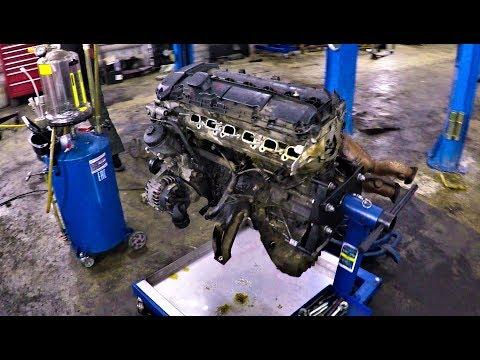 BMW E39 РЕМОНТ МОТОРА !