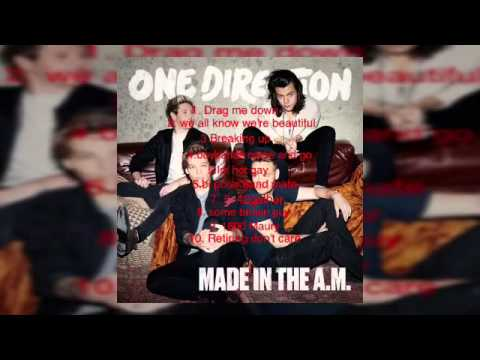 One Direction Made in the AM tracklist