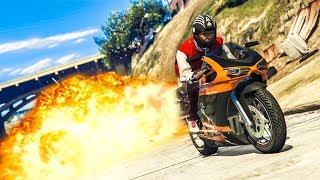 THE LUCKIEST STUNT EVER! - (GTA 5 Stunts & Fails)