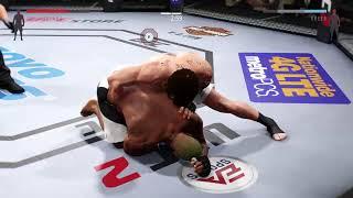 PS4 UFC2 Саня Емельяненко Ломает Всех