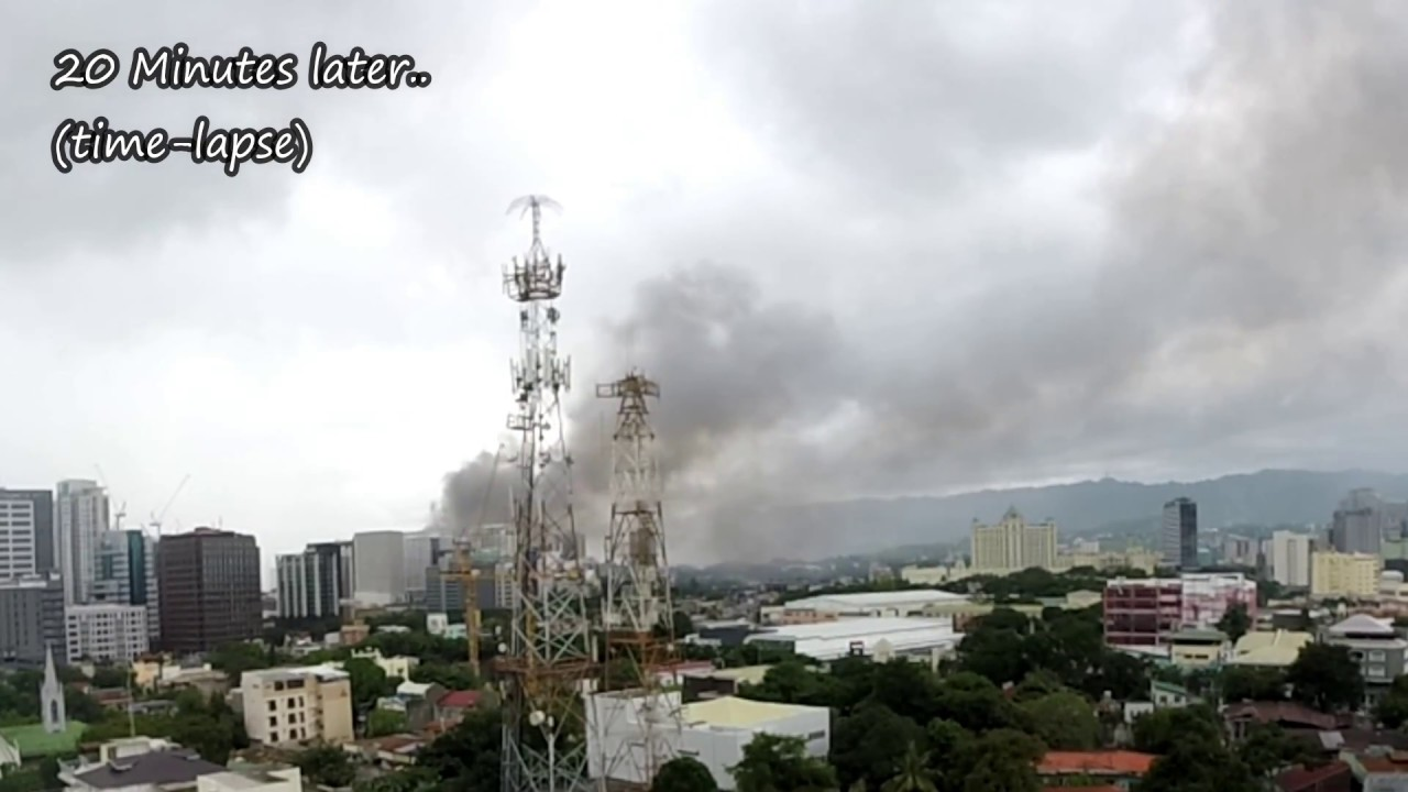 Breaking News: Another Fire @ Ayala/Persimmon Area - Cebu City