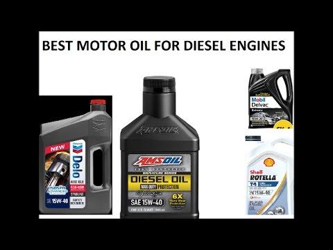 Best Motor Oil for all Diesel Engines, including powerstroke, duramax, cummins, ecodiesel