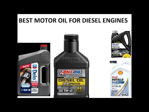 Best motor oil for all diesel engines including for Best diesel synthetic motor oil