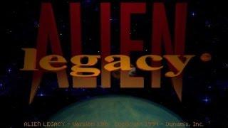 Alien Legacy gameplay (PC Game, 1994)
