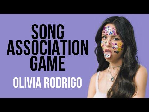 SONG ASSOCIATION GAME || OLIVIA RODRIGO EDITION |