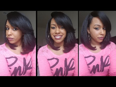 So Natural For Under $25!   Freetress Heaven L-Part Wig   Collab W/ Dee Dee!