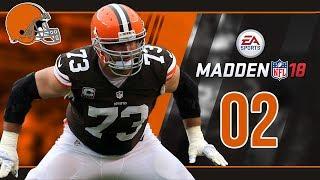 Madden NFL 18 Owner Mode (Cleveland Browns) #02 Week 1 vs. Steelers