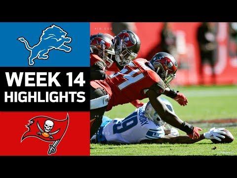 Lions vs. Buccaneers   NFL Week 14 Game Highlights
