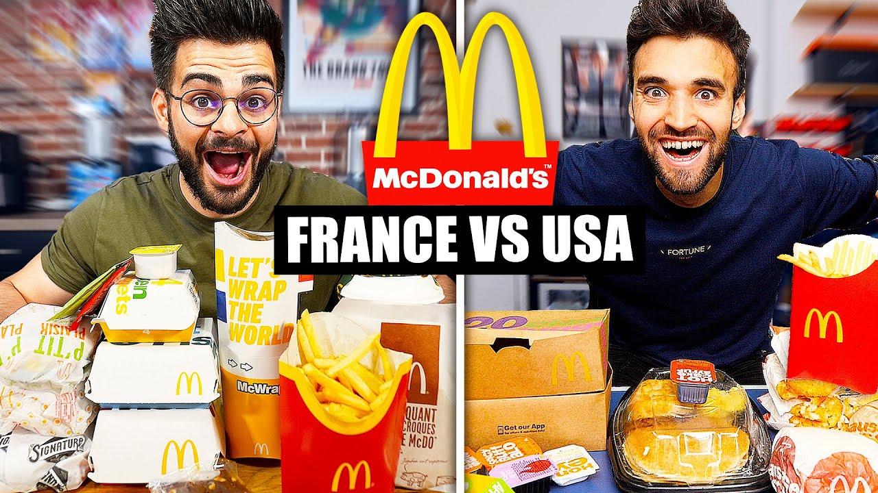 Download McDonald's FRANCE VS USA ! (feat. @LivingBobby )