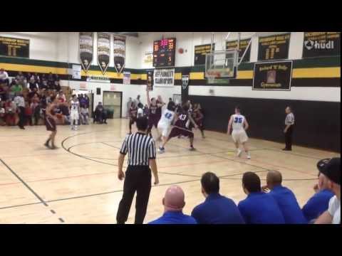 Conwell Egan Catholic High School vs  Abington   James Leible highlights